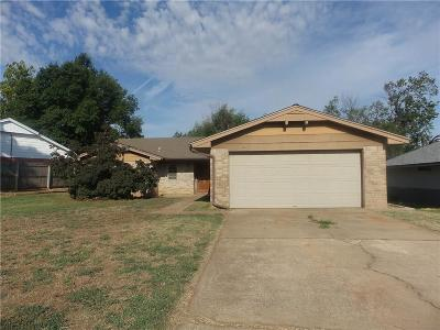 Oklahoma City OK Single Family Home For Sale: $99,000