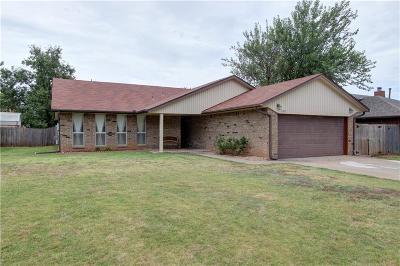 Edmond Single Family Home For Sale: 1102 W Neptune Road