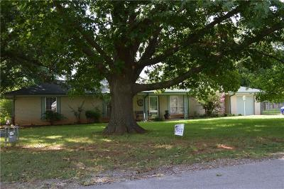Mustang Single Family Home For Sale: 548 S Pleasant View Drive