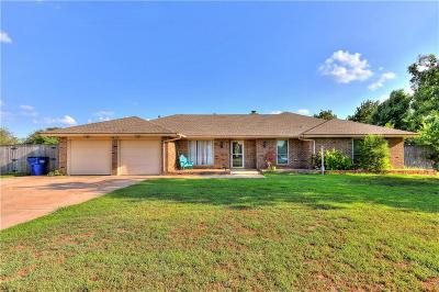 Mustang Single Family Home For Sale: 1912 W Rose Oak Drive