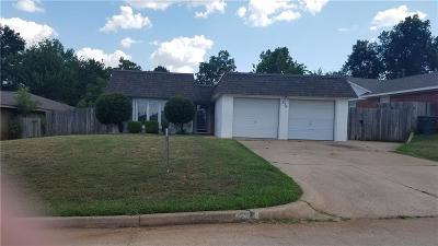 Edmond Single Family Home For Sale: 336 Memory Ln