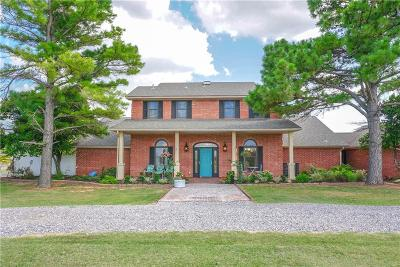 Chickasha Single Family Home For Sale: 715 County Road 1360