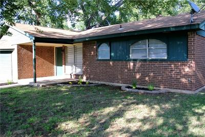Mustang Single Family Home For Sale: 410 S Shepherd Drive