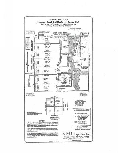 Norman Residential Lots & Land For Sale: 5051 SE 96 Street