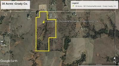 Chickasha Residential Lots & Land For Sale: County Road 1380