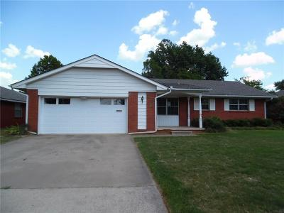 Single Family Home For Sale: 3312 N Peebly Drive