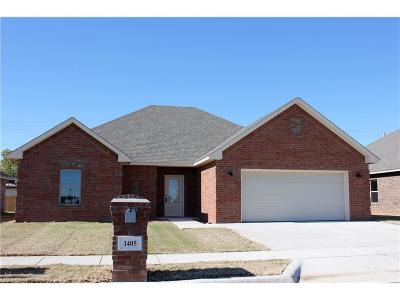 Single Family Home For Sale: 1405 Dustbowl Lane