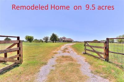 Blanchard Single Family Home For Sale: 2045 Us Highway 62