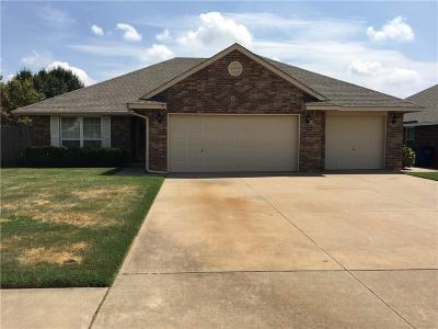 Mustang Single Family Home For Sale: 810 E Elder Lane
