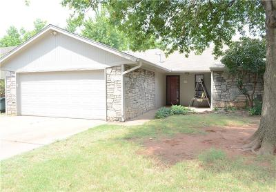 Edmond Single Family Home For Sale: 205 Bluegrass Lane