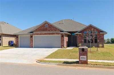 Oklahoma City Single Family Home For Sale: 8004 Hillers Road