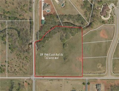 Mustang Residential Lots & Land For Sale: 7.42 Acres SW 59th & Czech Hall Rd