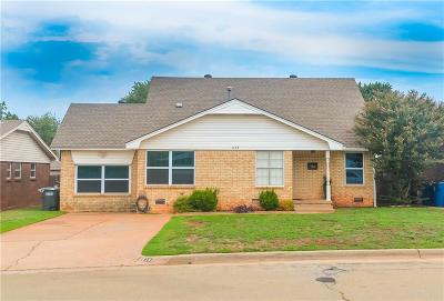 Edmond Single Family Home For Sale: 615 Ridgecrest Road