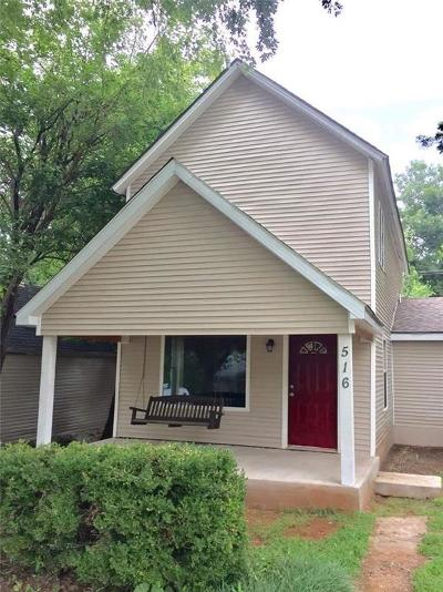 Guthrie Single Family Home For Sale: 516 N Wentz