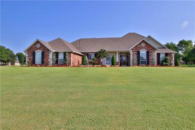 Choctaw Single Family Home For Sale: 16523 Roserock Circle