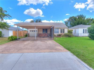 Moore OK Single Family Home For Sale: $115,900