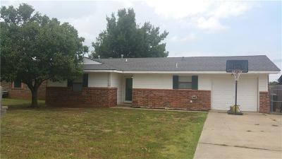 Chickasha Single Family Home For Sale: 3010 W Montana