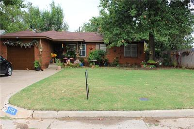 Warr Acres Single Family Home For Sale: 4704 N Sterling Avenue