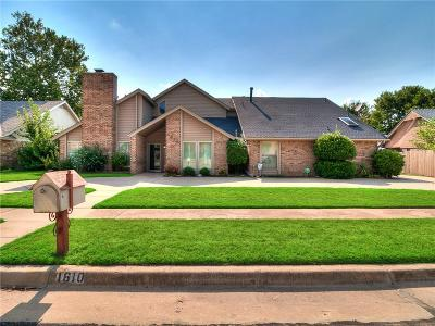 Norman Single Family Home For Sale: 1610 Broad Acres Drive