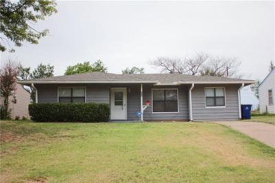 Chickasha Single Family Home For Sale: 213 N 17th Street