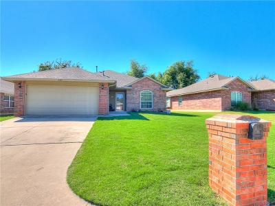Midwest City OK Single Family Home For Sale: $119,500