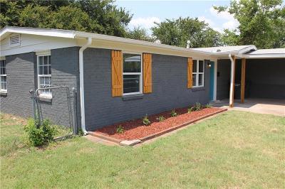 Del City Single Family Home For Sale: 1509 Mallard Drive