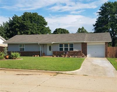 Choctaw OK Single Family Home For Sale: $117,900