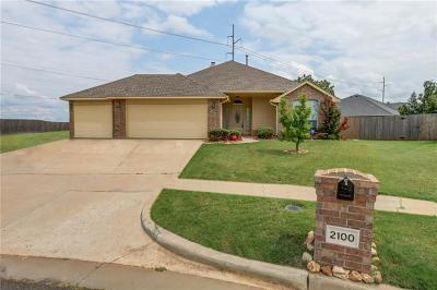 Edmond Single Family Home For Sale: 2100 NW 157th Terrace