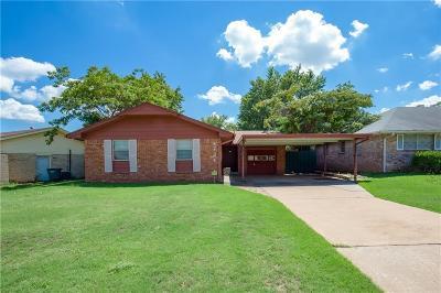 Del City Single Family Home For Sale: 4724 Spiva Drive