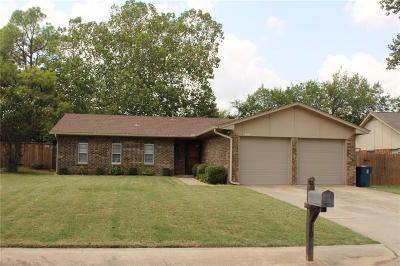 Edmond Single Family Home For Sale: 1001 Kelly Park Road