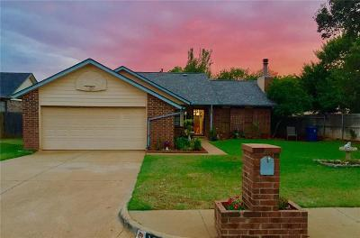 Edmond Single Family Home For Sale: 1321 Huntington Drive