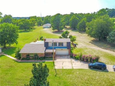 Choctaw Single Family Home For Sale: 6501 S Choctaw