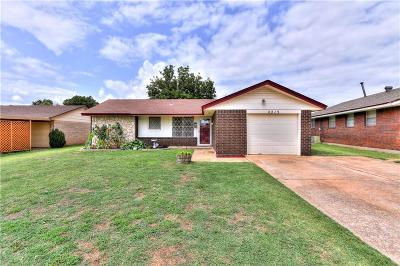 Del City Single Family Home For Sale: 4213 Epperly Drive