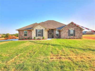 Blanchard OK Single Family Home For Sale: $213,900