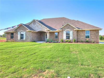 Blanchard OK Single Family Home For Sale: $214,900