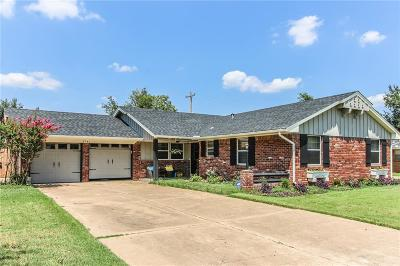 Oklahoma City Single Family Home For Sale: 2741 Plymouth Lane