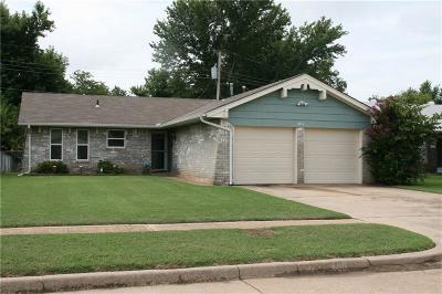 Edmond Single Family Home For Sale: 406 Gayclifee Terrace