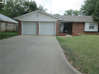 Oklahoma City Single Family Home For Sale: 1309 Frederick Drive