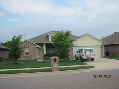 Del City Single Family Home For Sale: 7921 Woodbend