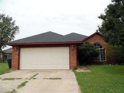 Oklahoma City OK Single Family Home Sale Pending: $126,400