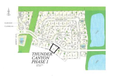 Edmond Residential Lots & Land For Sale: 7300 Thunder Canyon Avenue
