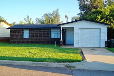 Del City OK Single Family Home For Sale: $46,750