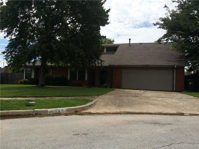 Norman OK Single Family Home For Sale: $162,500