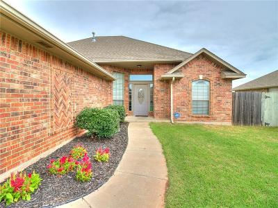 Choctaw OK Single Family Home For Sale: $189,000