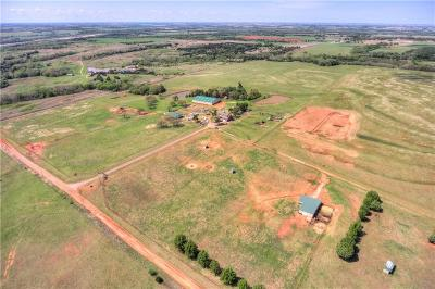 Carney, Chandler, Davenport, Luther, Meeker, Prague, Sparks, Stroud, Tryon, Arcadia, Edmond, Guthrie, Oklahoma City Farm & Ranch For Sale: 3150 E County Road 74