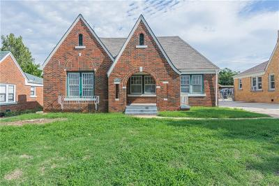 Oklahoma City Single Family Home For Sale: 2809 NW 21st Street