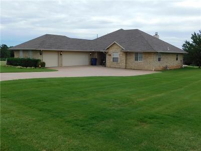Guthrie Single Family Home For Sale: 1629 Canyon Bluff