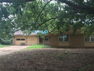 Chickasha Single Family Home For Sale: 110 Arlington Road