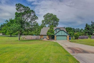 Choctaw OK Single Family Home Sold: $220,000