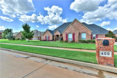 Edmond Single Family Home For Sale: 409 NW 150th Court
